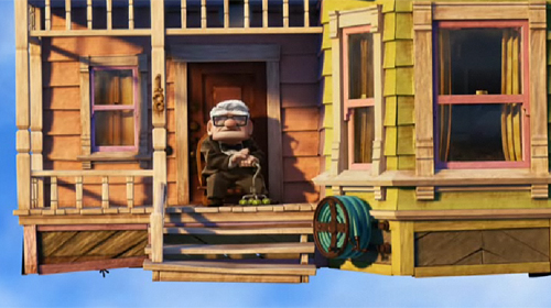 disney pixar up house. Then there are Pixar#39;s
